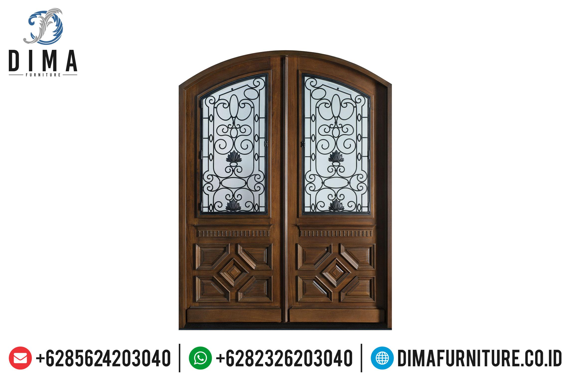 Harga Kusen Pintu Jati Natural Minimalis Classic Mewah Jepara TTJ-0505