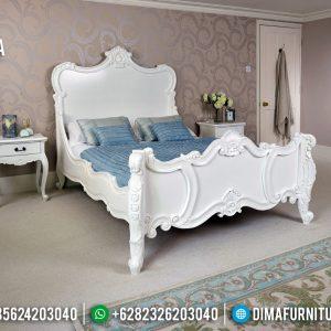Harga Tempat Tidur Mewah Clarita Ukiran Classic Luxury New Design 2020 TTJ-0474