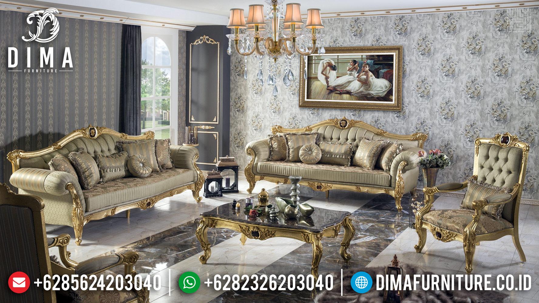 New Design Sofa Tamu Mewah Jepara Golden Kai Superior Luxury TTJ-0443
