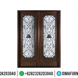 New Pintu Rumah Jati Mewah Furniture Jepara Terlengkap TTJ-0503