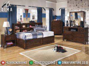 New Set Kamar Anak Dipan Anak Playful Furniture Jepara Asli TTJ-0416