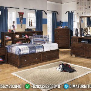 New Set Kamar Anak Dipan Anak Playful Furniture Jepara Asli TTJ-0416