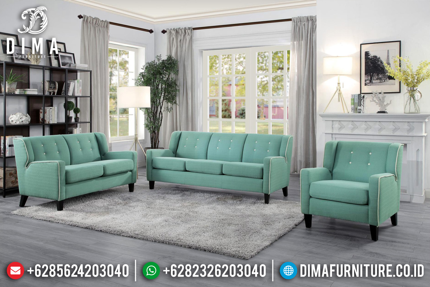New Set Sofa Tamu Minimalis Eve Modern Design 2020 TTJ-0492
