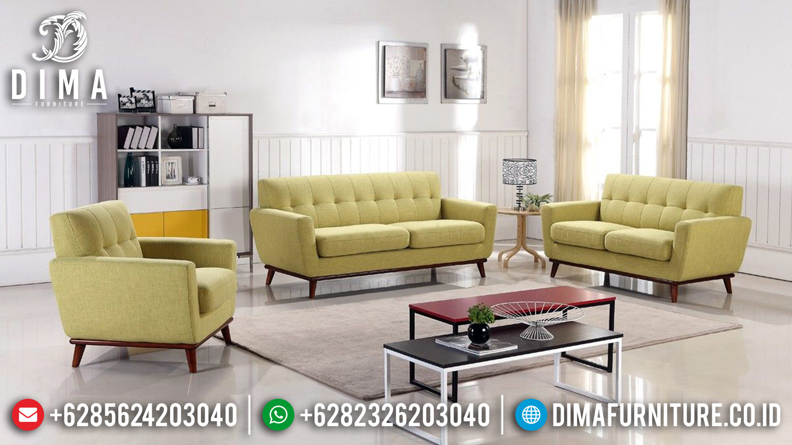 New Sofa Tamu Talia Modern Minimalis Furniture Jepara Terkini TTJ-0483