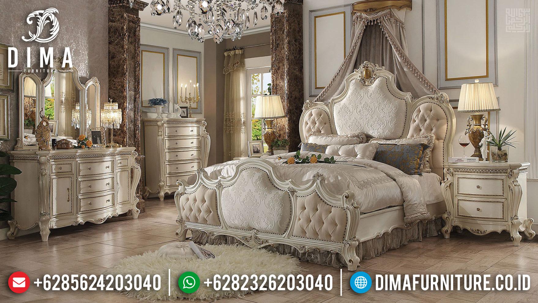 New Tempat Tidur Mewah, Bedroom Sets Luxury, Set Kamar Tidur Furniture Jepara TTJ-0430