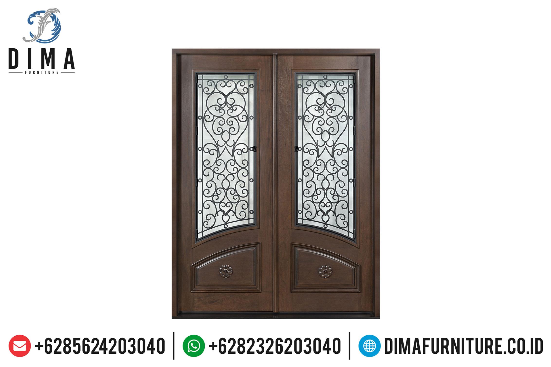 Pintu Rumah Utama Jati Mewah Harga Murah Kualitas Terbaik TTJ-0508
