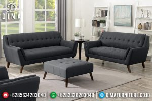 Set Kursi Sofa Tamu Modern Minimalis Retro French Model TTJ-0453