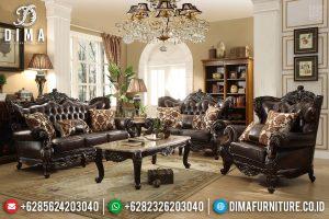 Sofa Tamu Jati Jepara Ukiran Klasik Furniture Jepara Terbaru TTJ-0389