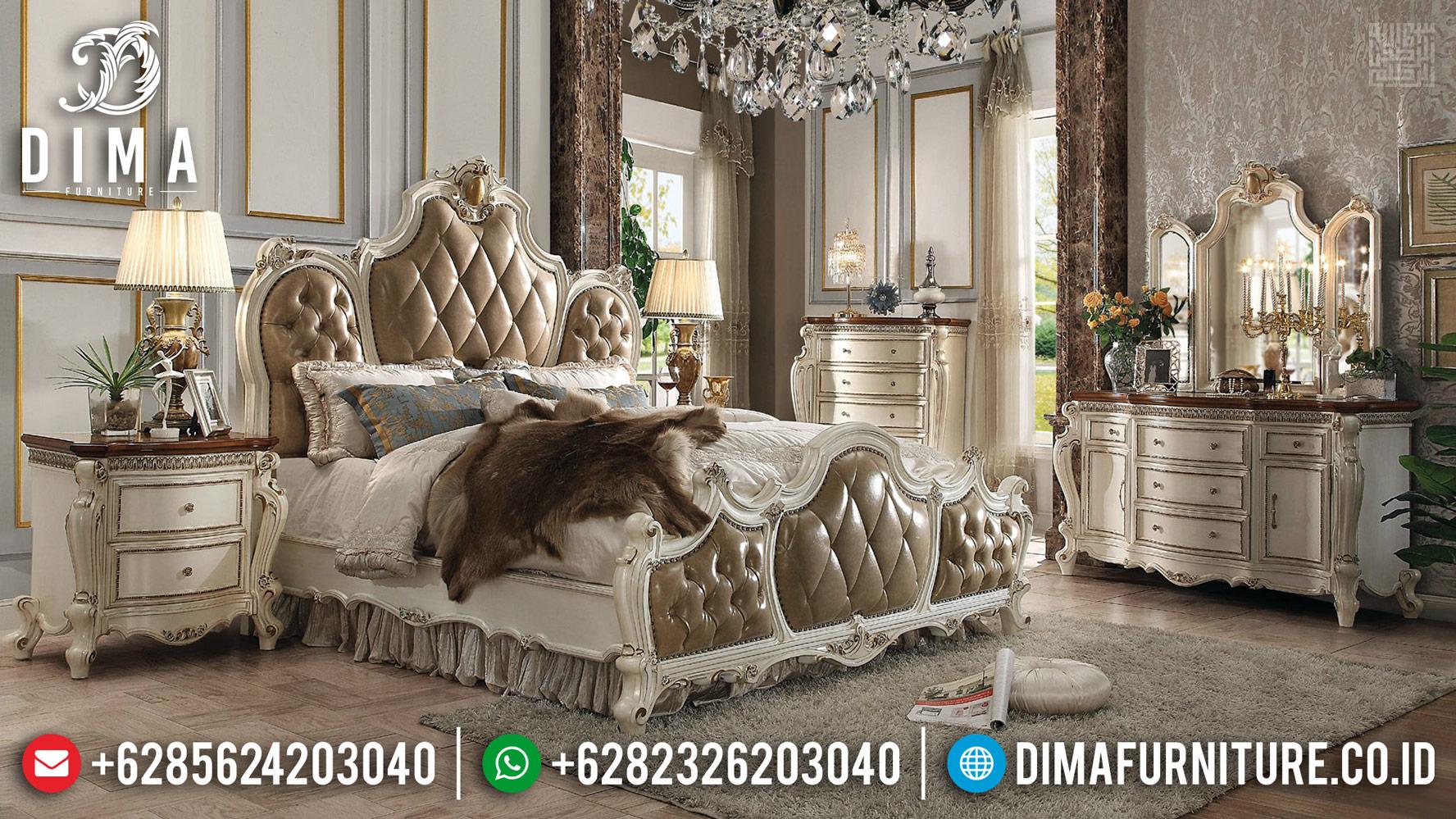 Tempat Tidur Jepara Mewah Harga Murah Meriah New 2020 TTJ-0428