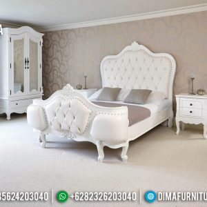 Tempat Tidur Mewah Luxury White Duco Modern Interior Design TTJ-0479