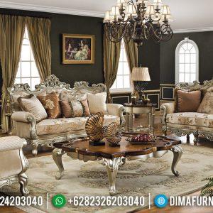 Desain Sofa Tamu Mewah Ukiran Jepara Superior Luxury Carving TTJ-0521