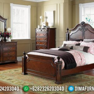 Great Quality Tempat Tidur Minimalis Jati Asli Perhutani Furniture Jepara TTJ-0547