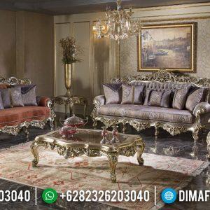 Harga Sofa Mewah Jepara Ukiran Classic Raja Desain Terbaru TTJ-0571