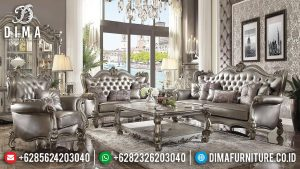 Jual Sofa Tamu Mewah Lotus Luxury Carving Jepara Great Quality TTJ-0567