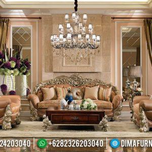 Jual Sofa Tamu Ukir Design Elegant Furniture Jepara TTJ-0522