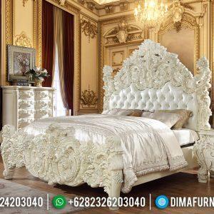 New Tempat Tidur Ukiran Mewah Furniture Jepara Classic Luxury TTJ-0534