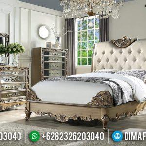 Tempat Tidur Mewah Ukiran Jepara Design European Kingdom TTJ-0585
