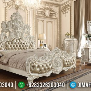 Best Sale Kamar Set Mewah Ukiran Jepara Design Luxury Classic TTJ-0593