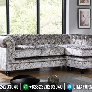 Desain Sofa Tamu Modern Philadelphia New Set Interior Living Room TTJ-0633
