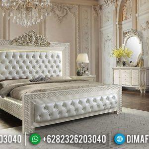 Design Interior Kamar Set Mewah Modern Carving Crown Luxurian Type TTJ-0595