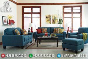 Gambar Sofa Tamu Minimalis Jati Desain Modern Kayu Perhutani Jepara TTJ-0602