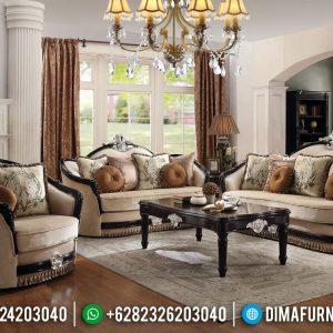 Get Ramadhan Sale Sofa Tamu Mewah Ukiran Luxury Warna Cat Duco Kombinasi TTJ-0648