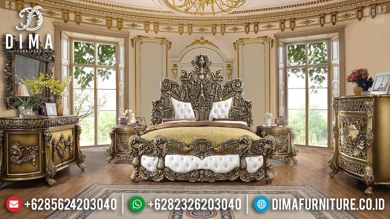 Harga Kamar Set Mewah Ukiran Luxury Classic Empire Style Furniture Jepara TTJ-0624