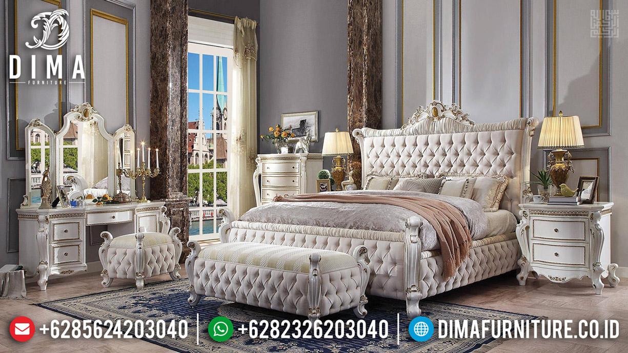Kamar Set Mewah Versailess, Tempat Tidur Ukiran Jepara, Dipan Ranjang Luxury Queen Size TTJ-0594