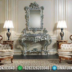 Kursi Sofa Tamu Mewah Ukiran Jepara Natural Kombinasi Luxurious Motif TTJ-0611