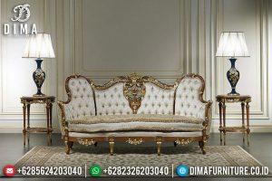 New Desain Sofa Tamu Mewah Renaissance 3 Seater Luxury Classic Style TTJ-0605