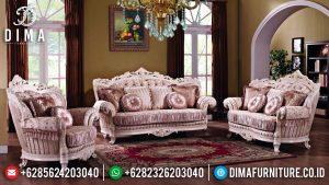 Set Sofa Tamu Mewah 3 2 1 Ukiran Luxurious Desain Interior Megah TTJ-0629