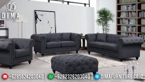 Sofa Tamu Jepara Design Minimalis Modern New Type Full Fabric TTJ-0632