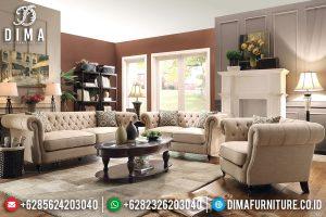 Sofa Tamu Modern Minimalis Natural Jati New Furniture Jepara Terbaru TTJ-0601