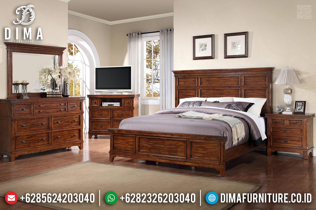 Angelica Rose Tempat Tidur Minimalis Klasik Jati Best Price Quality TTJ-0691
