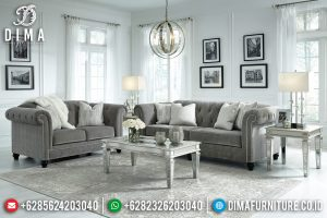 Best Seller Sofa Tamu Mewah Desain Modern New Luxury Interior Style TTJ-0703
