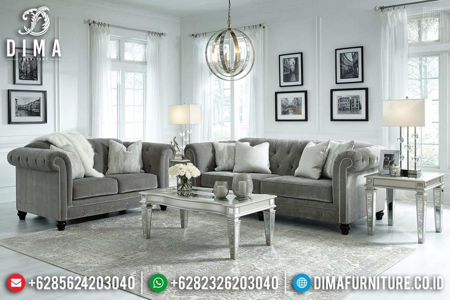 Best Seller Sofa Tamu Mewah Desain Modern New Luxury Interior Style TTJ-0703