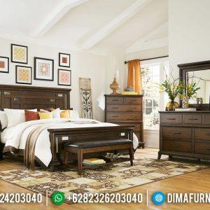 Big Sale Ramadhan Kamar Set Minimalis Jati Best Quality Natural Solid Wood TTJ-0688