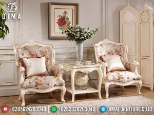 Desain Sofa Mewah Santai Kursi Teras Ukiran Luxury Classic Jepara TTJ-0733
