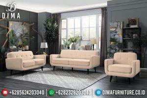 Desain Sofa Tamu Modern Jati Classic Natural Kayu Perhutani Jepara TTJ-0715