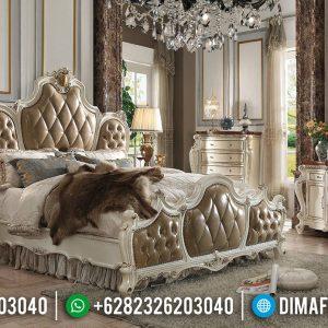 Desain Tempat Tidur Mewah Ukiran Antique Classic Luxury Jepara TTJ-0678