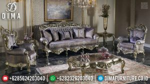 Empire Design Sofa Tamu Mewah Klasik Luxury Royals Carving Furniture Jepara TTJ-0662