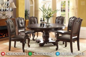 Furniture Jepara Meja Makan Minimalis Jati Klasik Best Quality Solid Wood TTJ-0699