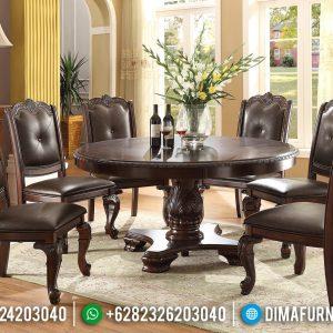 Furniture Jepara Meja Makan Minimalis Jati Klasik Best Quality Solid Wood TTJ-0699