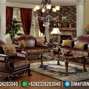 Harga Sofa Tamu Mewah Ukiran Luxury Classic Venezia Interior Ideas TTJ-0667