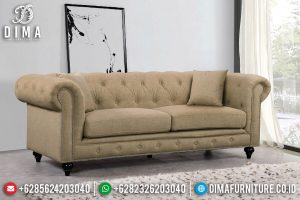 Harga Sofa Tamu Minimalis Jati Solid Natural New 2020 Furniture Jepara TTJ-0724