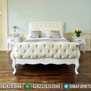 Jual Kamar Set Mewah Putih Duco Desain French Luxury Klasik Jepara TTJ-0758