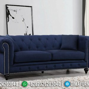 Jual Kursi Sofa Minimalis 3 Seater New Design Luxury Fabric Velvet TTJ-0732