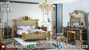 Model Romanian Kamar Set Mewah Heraklius Luxury Carving Furnishing TTJ-0680
