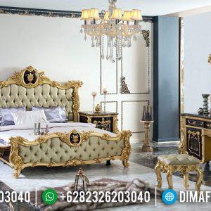 Model Romanian Kamar Set Mewah Heraklius Luxury Carving Furnishing TTJ-0680