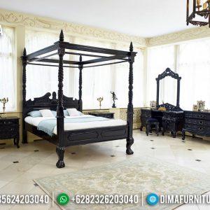 New Model Tempat Tidur Mewah Klasik Luxury Harga Terjangkau TTJ-0761